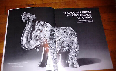"""TREASURES FROM THE BRONZE AGE OF CHINA"" Huge Exhibition Catalog. Many Photos! 5"