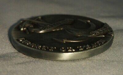 LIBERTY Bell Silver Coin Eagle Anchor Snake 3D Antique Americana Pennsylvania US 7