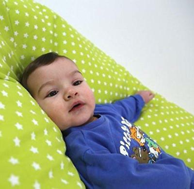 Maternity Pregnancy Breast Feeding Pillow + Pillow Case (Apple Land)