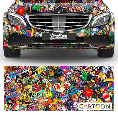 Adesivi Pellicola Sticker Car-Wrapping Duct Aria Diapositiva Auto SPECIAL-XL
