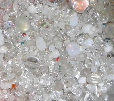 25 Glass Chunk Bead Mix Lime Beads For Beading Craft /& Jewellery Making TAR040