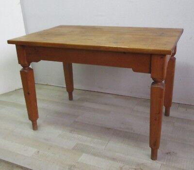 TAVOLO RUSTICO IN abete pino - scrittoio - scrivania - da cucina - primi 900