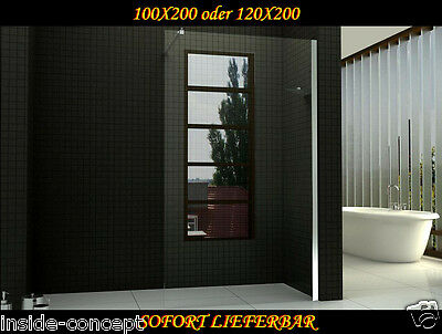 walk in dusche duschwand duschabtrennung wandhalter glas. Black Bedroom Furniture Sets. Home Design Ideas