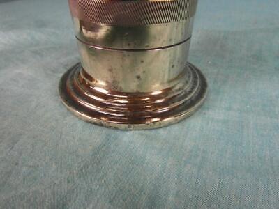Mörser Antik Messing Bronze Schwer Verziert Zerkleinerer Apotheke Edel Rar o3c6 10