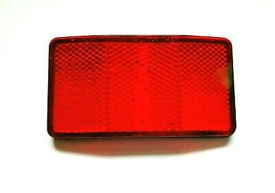Bicycle Bike Safety Caution Warning Reflector Disc Rear Pannier Racks je