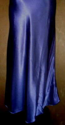 Victoria Secret S Purple Long Nightgown Slit Gown Satin Woman Lace Small Vintage 6