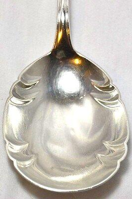 lg Sterling Silver 830S Serving Berry Spoon Norwegian Magnus Aase 70 grams Norge