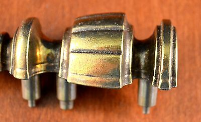 """Mid-Century Gold CHUNKY KBC Heavy Furniture Pull KEELER BRASS N-6763 5"