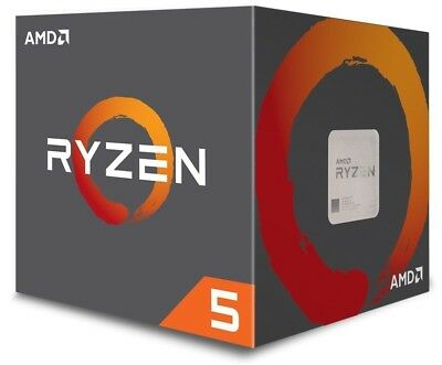 AMD Ryzen 5 2600 Processor 16 MB Cache 3.4 GHz AM4 6 Core 12 Thread Desktop CPU 3