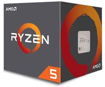 AMD Ryzen 5 2600 6 Core CPU 3.4 GHz AM4 12 Thread 16 MB Cache Desktop Processor 2