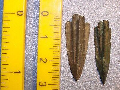 Ancient  arrowhead 7 - 2 nd century BC bronze. RARE. ORIGINAL 3