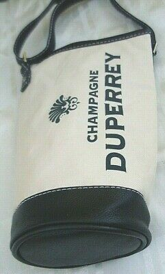 Quality DUPERREY CHAMPAGNE Insulated Wine Carry Bag w/ Adjust Strap ADVERTISING 7