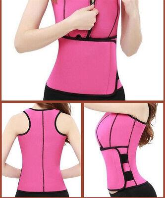 Women Sauna Thermo Shaper Sweat Waist Trainer Belt Slimming Vest Neoprene Corset 4