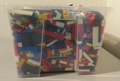 1 Kg  LEGO KILOWARE STEINE PLATTEN RÄDER SONDERSTEINE GEMISCHT GEBRAUCHT KILO 4