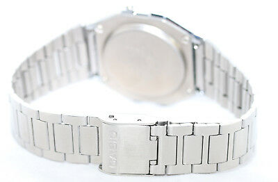 Casio Classic Digital Stainless Steel Alarm Stopwatch Casual Watch A158WEA-9 New 8
