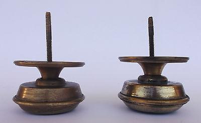 Vintage Pair Of Brass Handle/knobs 9