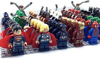 Lego Super Hero Minifigures Authentic Marvel Dc Superheroes Many Rares You Pick! 3