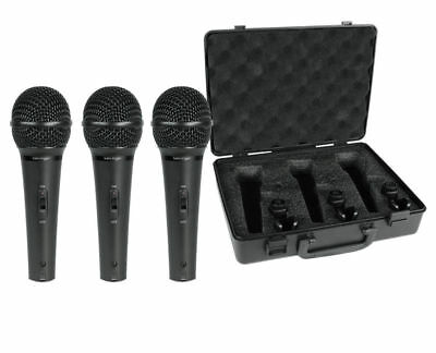 Behringer XM1800S 3 Dynamic Cardioid Vocal and Instrument Microphones (Set of 3) 6