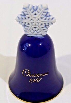 Avon 1987 Porcelain Christmas Bell