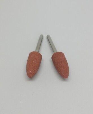 10Pcs Ceramic Stone Polishing Grinding for Dremel Rotary Die Grinder tool bit 6
