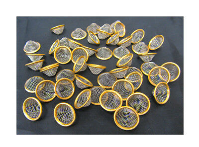 20mm Pipe Screens Gauzes Conical Steel Brass Pipe Bowl Metal Filters Pipes UK 2