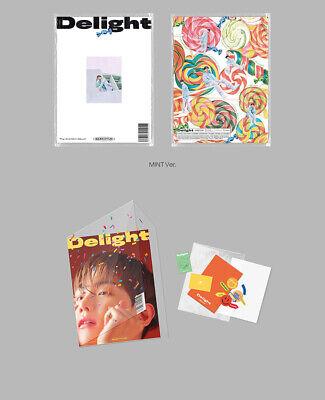 BAEKHYUN DELIGHT Album 3CD+POSTER+3 Photo Book+9 Card+3 F.Poster+3 Sticker+GIFT 7