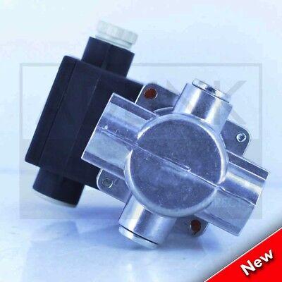 "Commercial Kitchen Gas Interlock Kit 1"" Gas Solenoid Valve & 28Mm Adaptors 8"