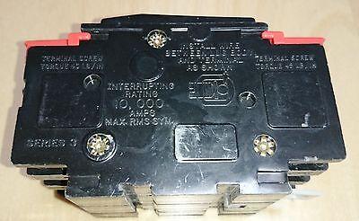 SQUARE D 3 POLE 40A DIN CIRCUIT BREAKER HACR NE6088