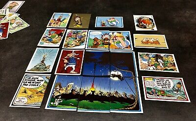 Stickers Panini Asterix Carrefour 2019 Lot de 10 cartes au choix Autocollant 60a 2