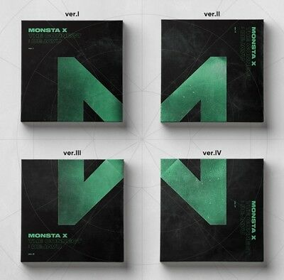 MONSTA X Album [THE CONNECT : DEJAVU] CD + 84p Booklet + 2p Photocard Sealed
