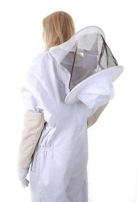 BUZZ Beekeeping bee suit - 3XL with round hat and twin hoop veil 7