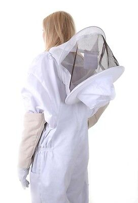 BUZZ Beekeeping bee suit - LARGE with round hat and twin hoop veil 6