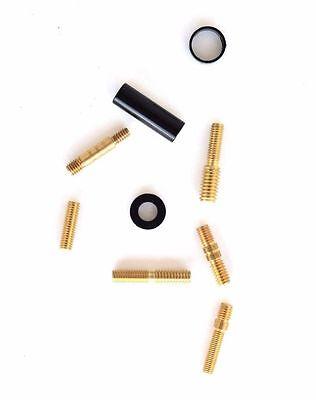 2006-2010 HUMMER H3 H3T BLACK 50 CALIBER STUBBY SHORT BILLET ANTENNA 5.5/'/'