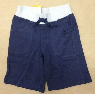 163 NWT Gymboree Toddler Boy/'s Elastic Pull on Denim Shorts with Pockets