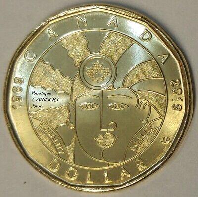 2019 Canada Equality Dollars and Lonnie BU 2