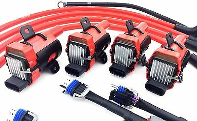 d585 uf262 ignition coil packs mazda 10mm wires rx-8 rx8 adapter wiring  harness 2