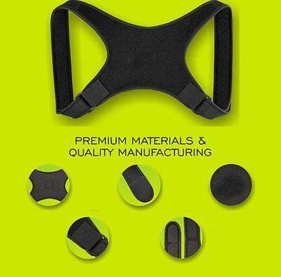 Posture Corrector  Shoulder Support Brace Adjustable Support Unisex 3