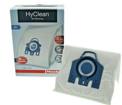 MIELE Vacuum Bags GN Hyclean 3D Efficiency x 4 Boxes - GENUINE 4