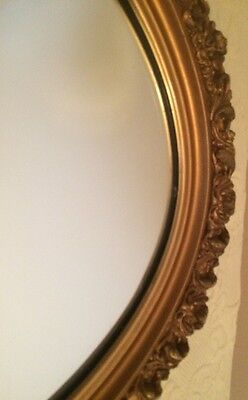 LG ORNATE Hollywood Style FRENCH REGENCY Wall MIRROR Uttermost USA 3