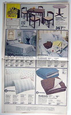Ancienne Grande Circulaire De 1982 Des Magasins K-Mart, 10 Pages 2
