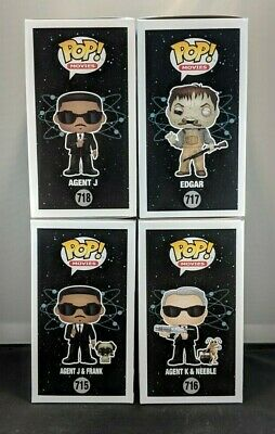 Funko Pop! Movies: Men In Black  FUNKO SHOP EXCLUSIVE  FULL LOT  FREE SHIPPING 6