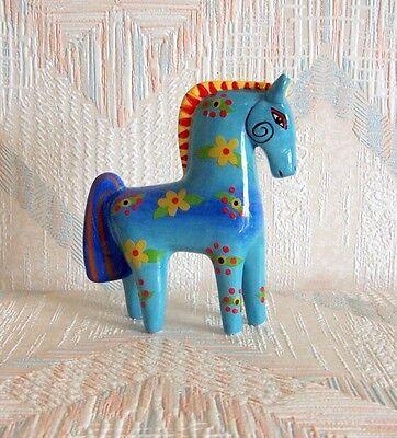New LAUREL BURCH Figurine PURPLE HORSE Figure Statue Pony Mare Home Decor Lilac