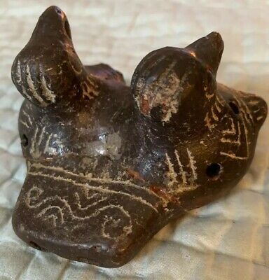 Rare Pre-Columbian Terracotta sculpture statue pottery Mayan Aztec Mexico Music 6