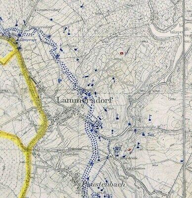 Topographische Karten Eifel Westwall Siegfried Linie Bunker Drachenzähne 1940 Eur 30 00 Picclick De