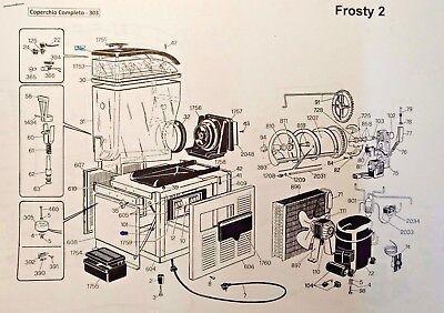 Frosty dream SPM slush machine White drive seal,SPM slush machine parts Sorby