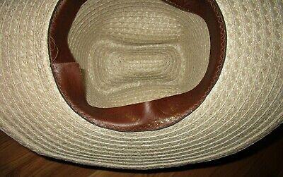70/'s80/'s Vintage Western Rockabilly P Brand Straw Hat
