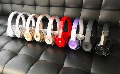 Beats By Dre Solo 3 Studio 2 Studio3 Wireless Headphones Black White Rose Gold 125 00 Picclick