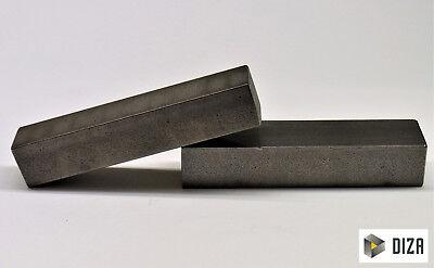 Blankstahl Flachstahl Breiten 40-55 mm S235JRC+C EN10027//10028 L= 500 mm 50x5mm