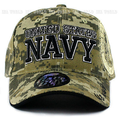 a3965a6b024 ... U.S. NAVY hat Military NAVY Official Licensed Baseball cap Strap-  Digital Camo 2