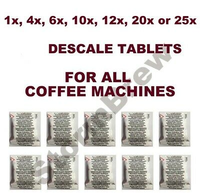 Descaling Descaler Tablets Tassimo Nespresso Dolce Gusto Bosch Coffee Machines 4